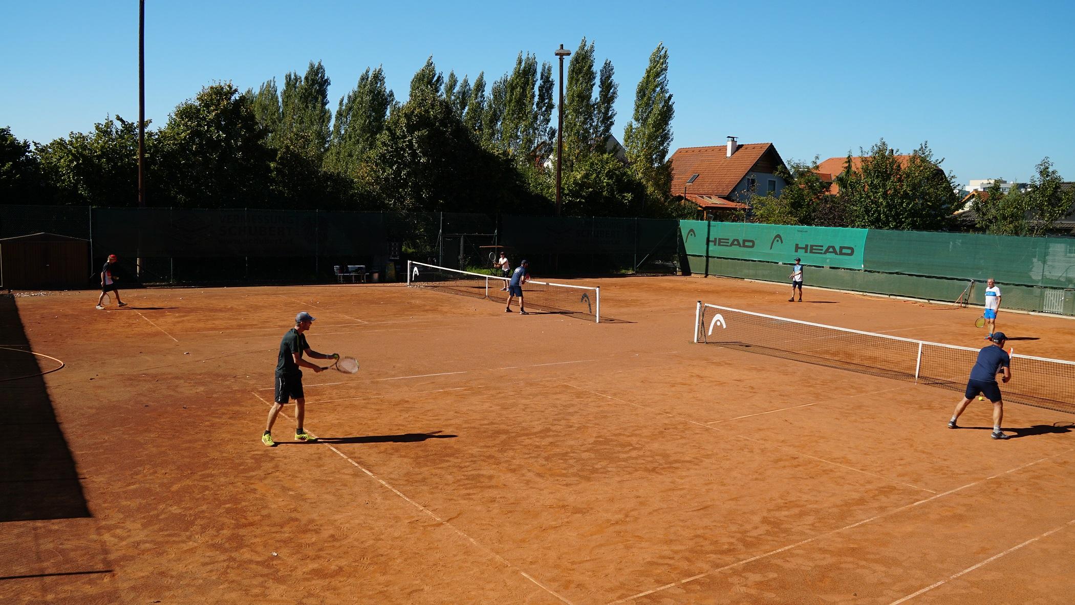tennis-doppel-karlstetten-2021  Interne Doppelmeisterschaften bei Kaiserwetter tennis doppel karlstetten 2021